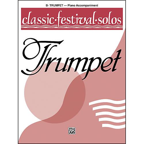Alfred Classic Festival Solos (B-Flat Trumpet) Volume 1 Piano Acc.-thumbnail