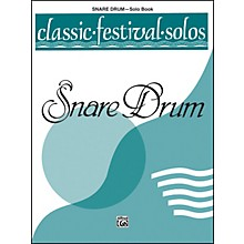 Alfred Classic Festival Solos (Snare Drum) Volume 1 Solo Book