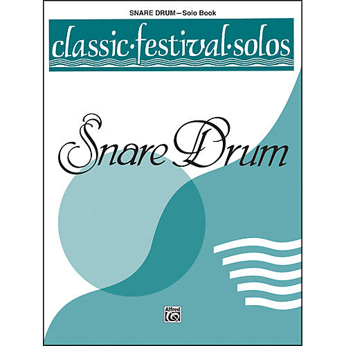 Alfred Classic Festival Solos (Snare Drum) Volume 1 Solo Book-thumbnail