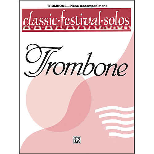Alfred Classic Festival Solos (Trombone) Volume 1 Piano Acc.-thumbnail
