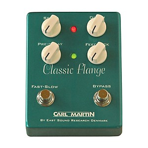 Carl Martin Classic Flange Version II Guitar Effects Pedal by Carl Martin
