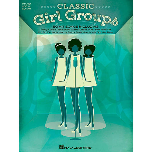 Hal Leonard Classic Girl Groups for Piano/Vocal/Guitar-thumbnail
