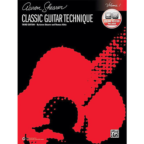 Alfred Classic Guitar Technique, Volume 1 (Third Edition) - Book & Online Audio