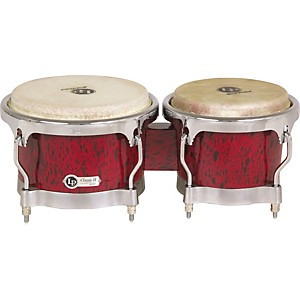 LP Classic II Bongos with Chrome Hardware by LP