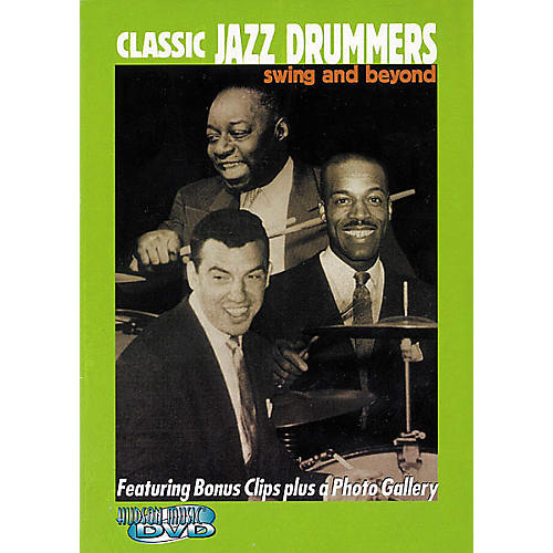 Hudson Music Classic Jazz Drummers (DVD)