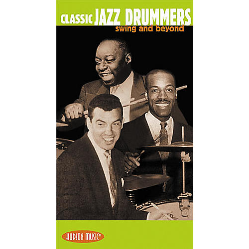 Hudson Music Classic Jazz Drummers: Swing Era (VHS)-thumbnail
