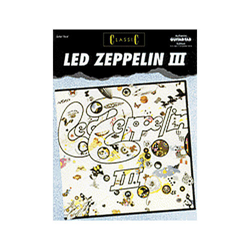 Alfred Classic Led Zeppelin III Guitar Tab Book-thumbnail