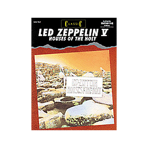 Alfred Classic Led Zeppelin V - Houses of the Holy Book