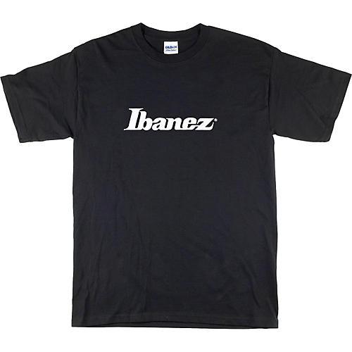 Ibanez Classic Logo T-Shirt Black Double XL