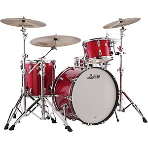 Ludwig Classic Maple 3-Piece Pro Beat Shell Pack with 24 in. Bass Drum by Ludwig