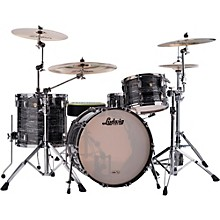 Ludwig Classic Maple 3-Piece Shell Pack Level 1 Vintage Black Oyster Pearl