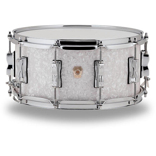 Ludwig Classic Maple Snare Drum 14 x 5 in. White Marine Pearl-thumbnail
