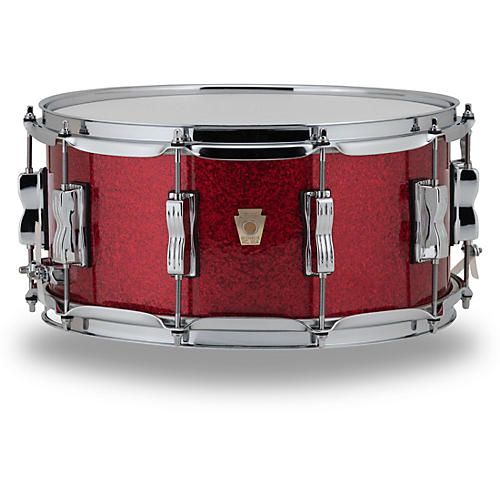 Ludwig Classic Maple Snare Drum 14 x 6.5 in. Red Sparkle