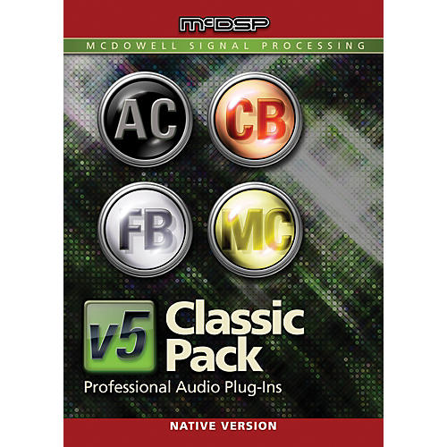 McDSP Classic Pack Native v5 Software Download