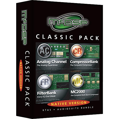 McDSP Classic Pack Software Native Version-thumbnail