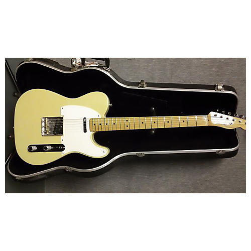 Fender Classic Player Baja Telecaster Blonde Solid Body Electric Guitar