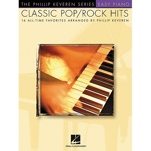 Hal Leonard Classic Pop/Rock Piano Hits - Phillip Keveren Series For Easy Piano-thumbnail