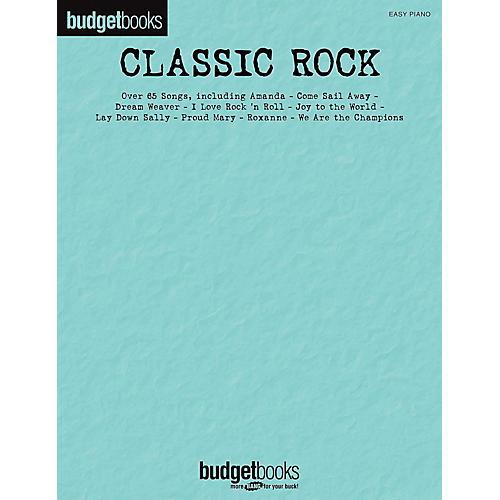Hal Leonard Classic Rock - Budget Books for Easy Piano