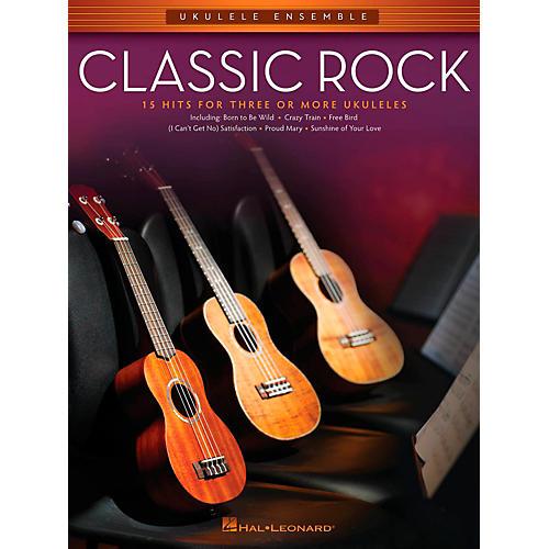 Hal Leonard Classic Rock - Ukulele Ensemble Series Mid-Intermediate Level Songbook-thumbnail