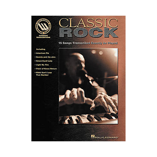 Hal Leonard Classic Rock Book