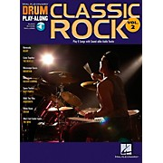 Hal Leonard Classic Rock Drum Play-Along Series Volume 2 Book with CD
