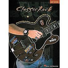 Hal Leonard Classic Rock Easy Guitar Tab Songbook
