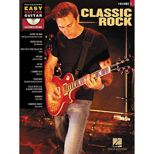 Hal Leonard Classic Rock: Easy Rhythm Guitar Series, Volume 2 (Book/CD)-thumbnail