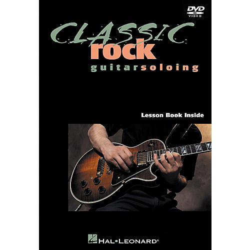 Hal Leonard Classic Rock Guitar Soloing DVD-thumbnail