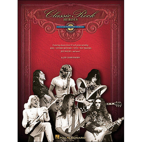 Hal Leonard Classic Rock Heroes Deluxe Edition Book/CD