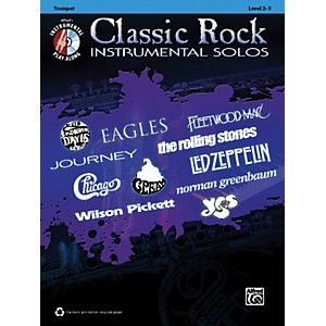 Alfred Classic Rock Instrumental Solos Trumpet Book and CD by Alfred