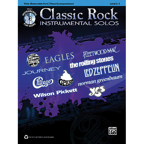 Alfred Classic Rock Instrumental Solos for Strings Viola Book & CD-thumbnail