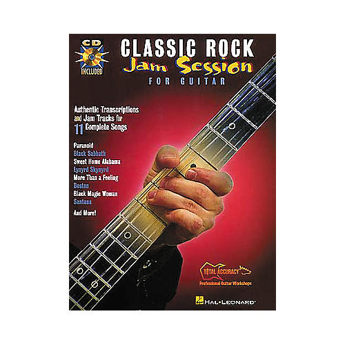 Hal Leonard Classic Rock Jam Session for Guitar (Book/CD)