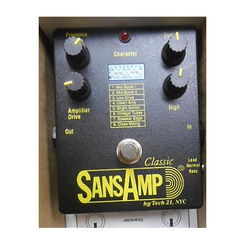 Tech 21 Classic Sansamp Effect Pedal-thumbnail