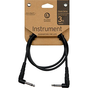 Daddario Planet Waves Classic Series 1/4 inch Right Angle Patch Cable