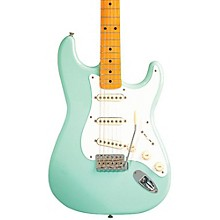 Classic Series '50s Stratocaster Electric Guitar Surf Green Maple Fretboard