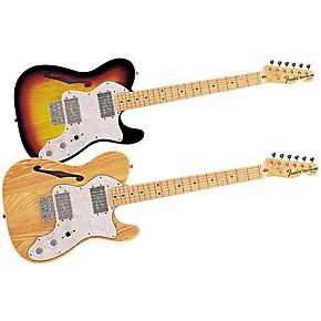 fender classic series 39 72 telecaster thinline electric guitar natural guitar center. Black Bedroom Furniture Sets. Home Design Ideas
