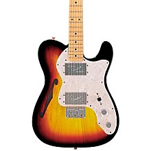 Classic Series '72 Telecaster Thinline Electric Guitar 3-Color Sunburst