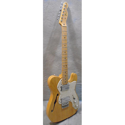 Fender Classic Series '72 Telecaster Thinline Natural Hollow Body Electric Guitar