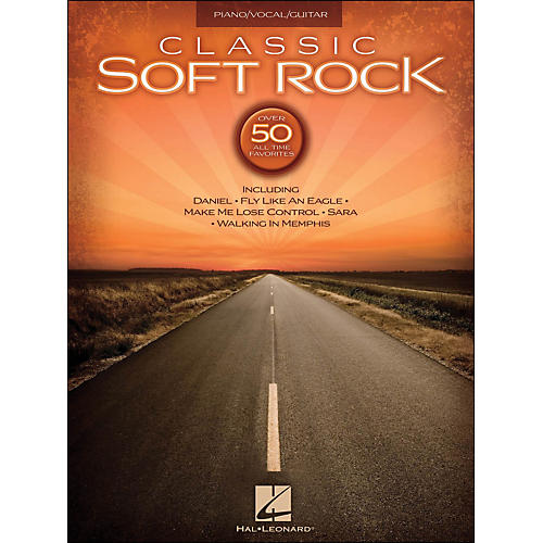 Hal Leonard Classic Soft Rock arranged for piano, vocal, and guitar (P/V/G)