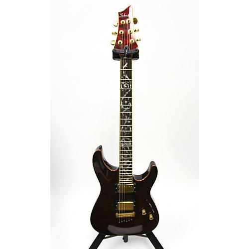 Schecter Guitar Research Classic Solid Body Electric Guitar-thumbnail