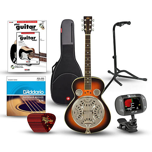 Rogue Classic Spider Resonator Round Neck Bundle-thumbnail