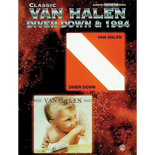 Alfred Classic Van Halen - Diver Down and 1984 Book