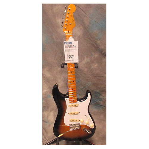 Squier Classic Vibe 1950S Stratocaster 2 Color Sunburst Solid Body Electric Guitar-thumbnail