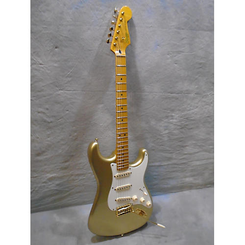 Squier Classic Vibe 1950S Stratocaster Aztec Gold Solid Body Electric Guitar-thumbnail
