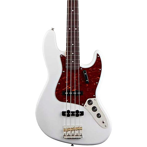 Squier Classic Vibe Jazz Bass '60s Bass Guitar Olympic White