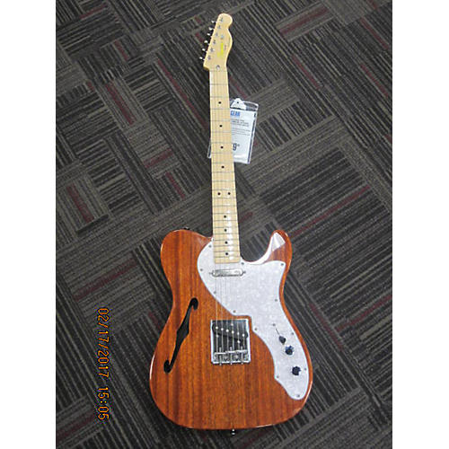 Squier Classic Vibe Telecaster Thinline Hollow Body Electric Guitar-thumbnail