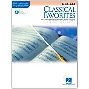Hal Leonard Classical Favorites Cello Book/CD Instrumental Play-Along
