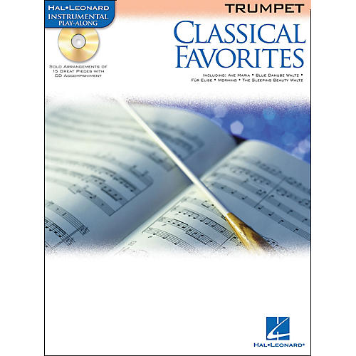 Hal Leonard Classical Favorites Trumpet Book/CD Instrumental Play-Along-thumbnail