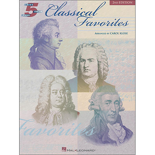 Hal Leonard Classical Favorites for Five Finger Piano