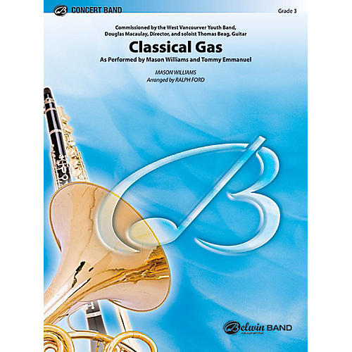 Alfred Classical Gas Concert Band Level 3 Set-thumbnail